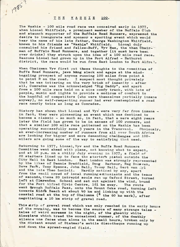 1985 Bulletin By B.Steidlen 1